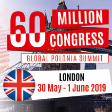 Kongres 60 Milionów / 60 Million Congress- London 2019