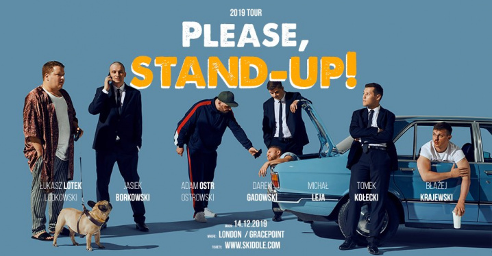 Please, Stand-up! Londyn